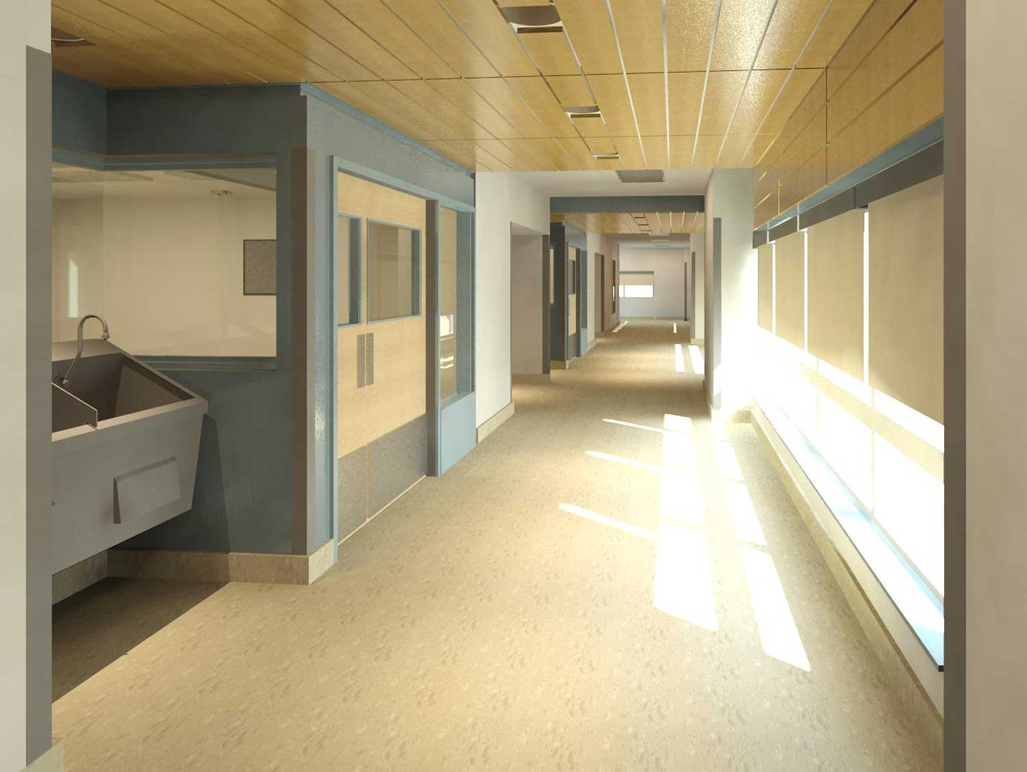 OR Unit Sterile Corridor