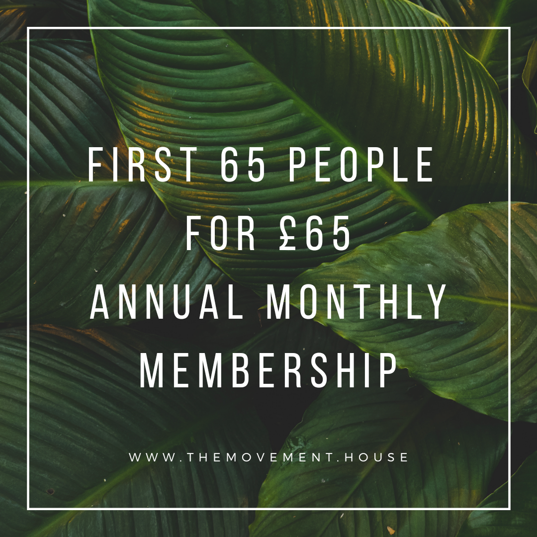 65 for 65 - £65 monthly unlimited package for the first 65 people to sign up for an annual membership.