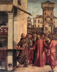 The Calling of St. Matthew (1502) by Vittore Carpaccio