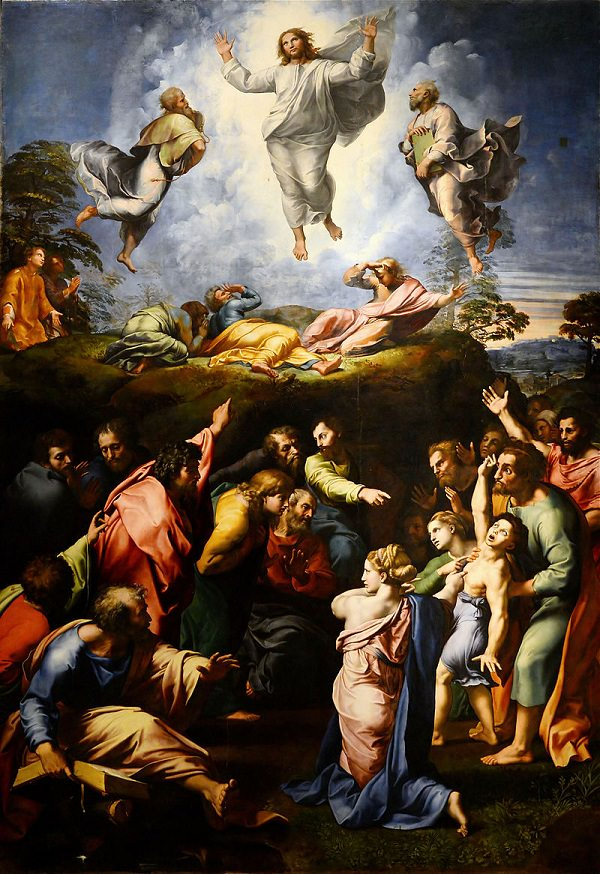 The Transfiguration  (1520), the last and greatest work of the Italian artist Raphael
