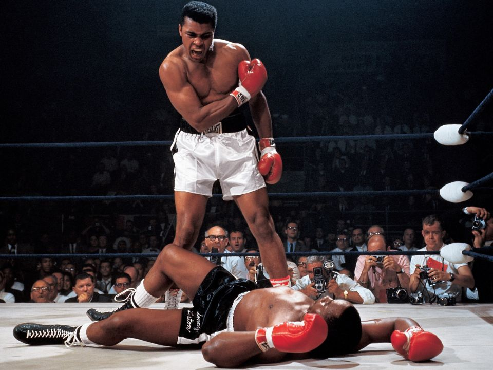 """I  AM  the Greatest! I said that even before I knew I was."" - Muhammad Ali"