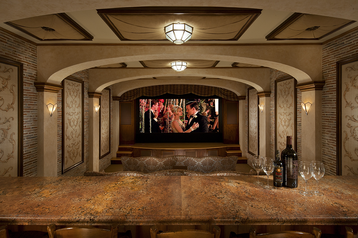 Teatro Volterra  Omakase Home Theater Gallery