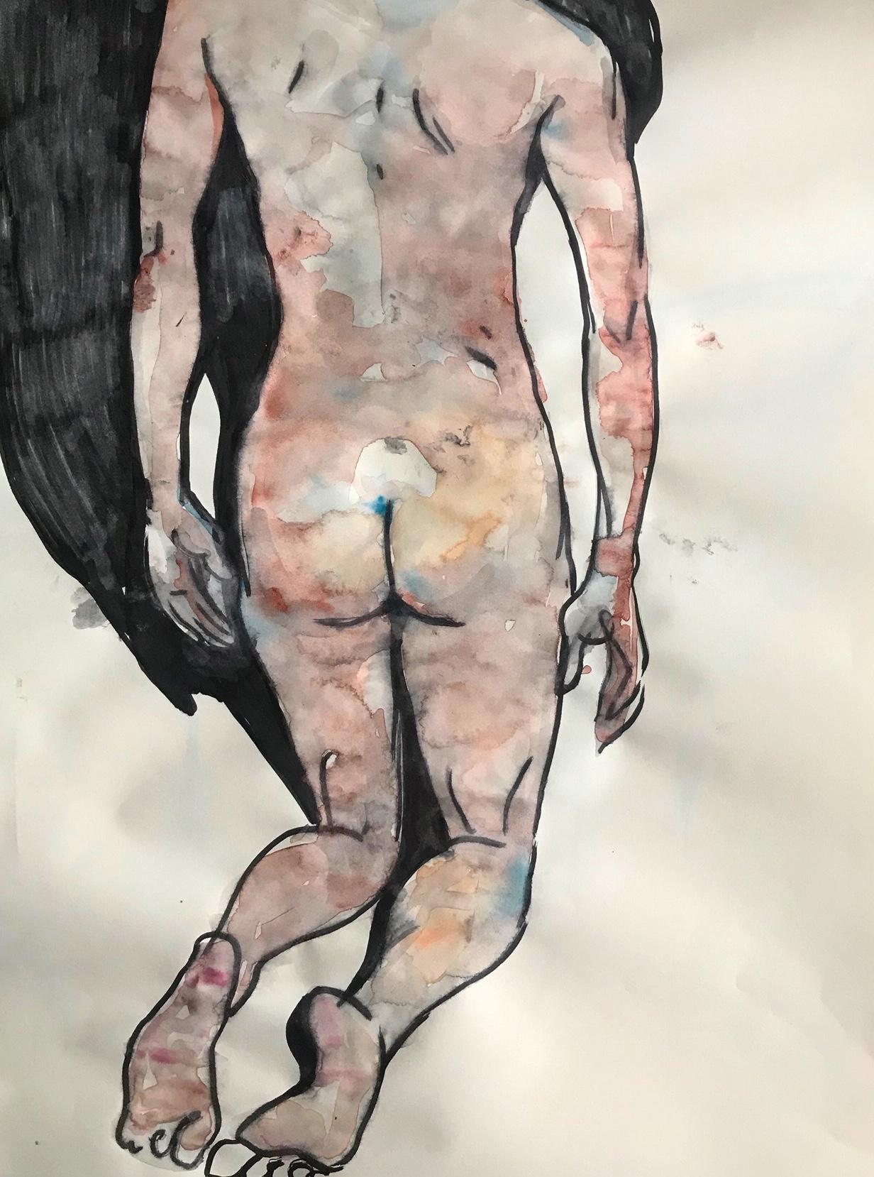 Self nude study