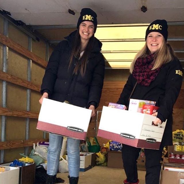 Today, EMC donated over 200 non-perishable food items to the Kincardine Food Bank. Thank you Sleepers Bed Gallery for rallying the community to make this year's #FillTheTruck campaign a great success🎉.