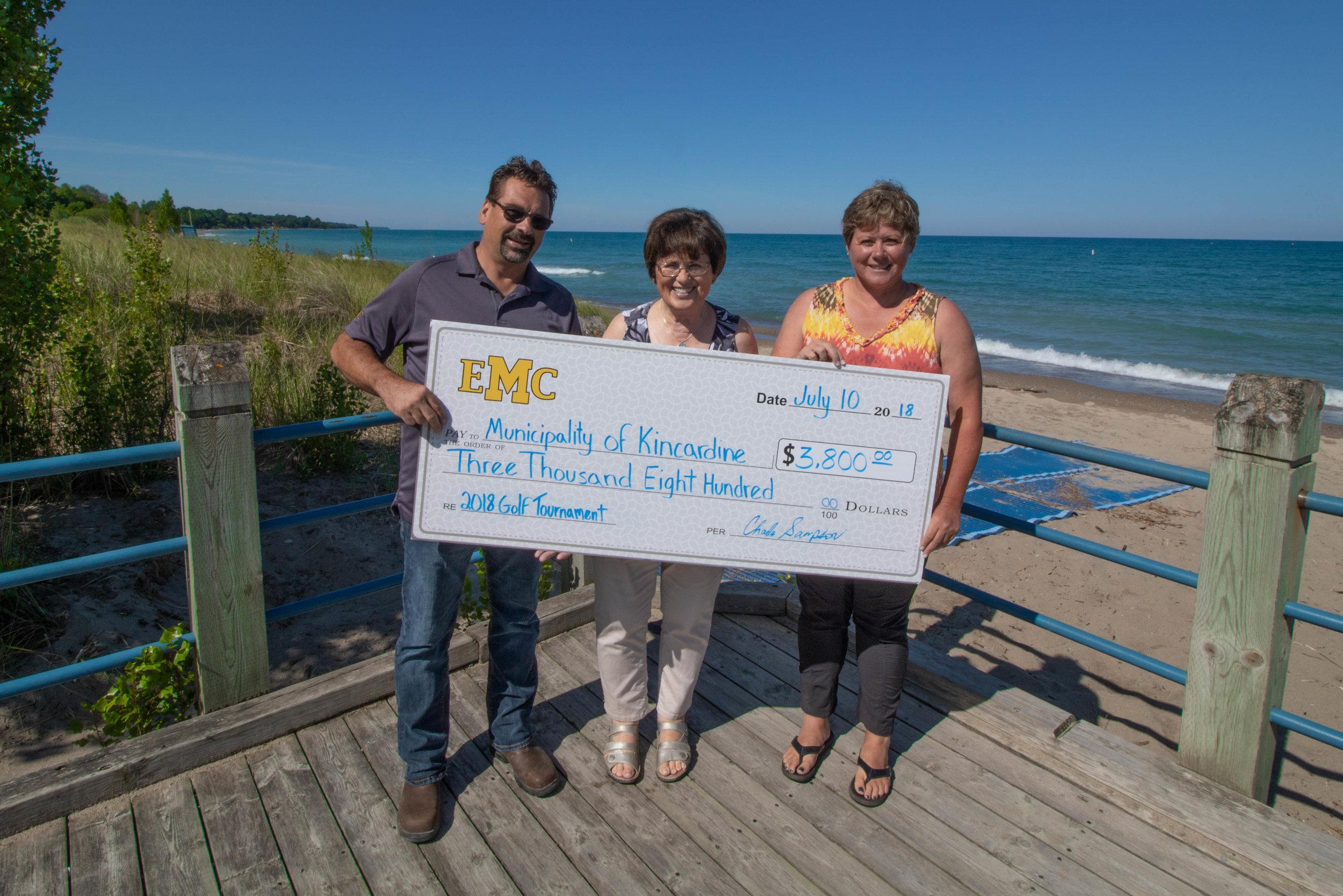 Donation to the Municipality of Kincardine