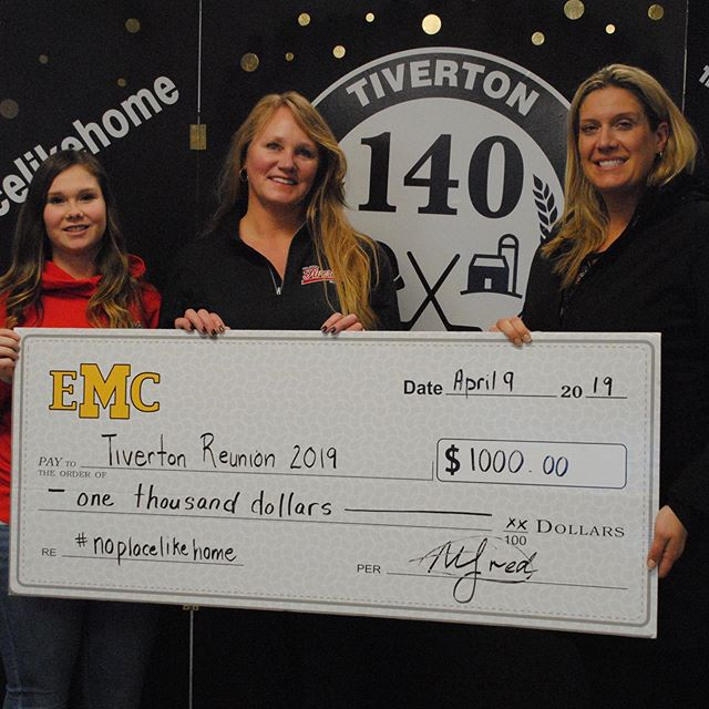EMC is a proud sponsor of the 140th Tiverton Reunion! 🔴⚪️⚫️ . . Photo courtesy of the Kincardine Record #noplacelikehome