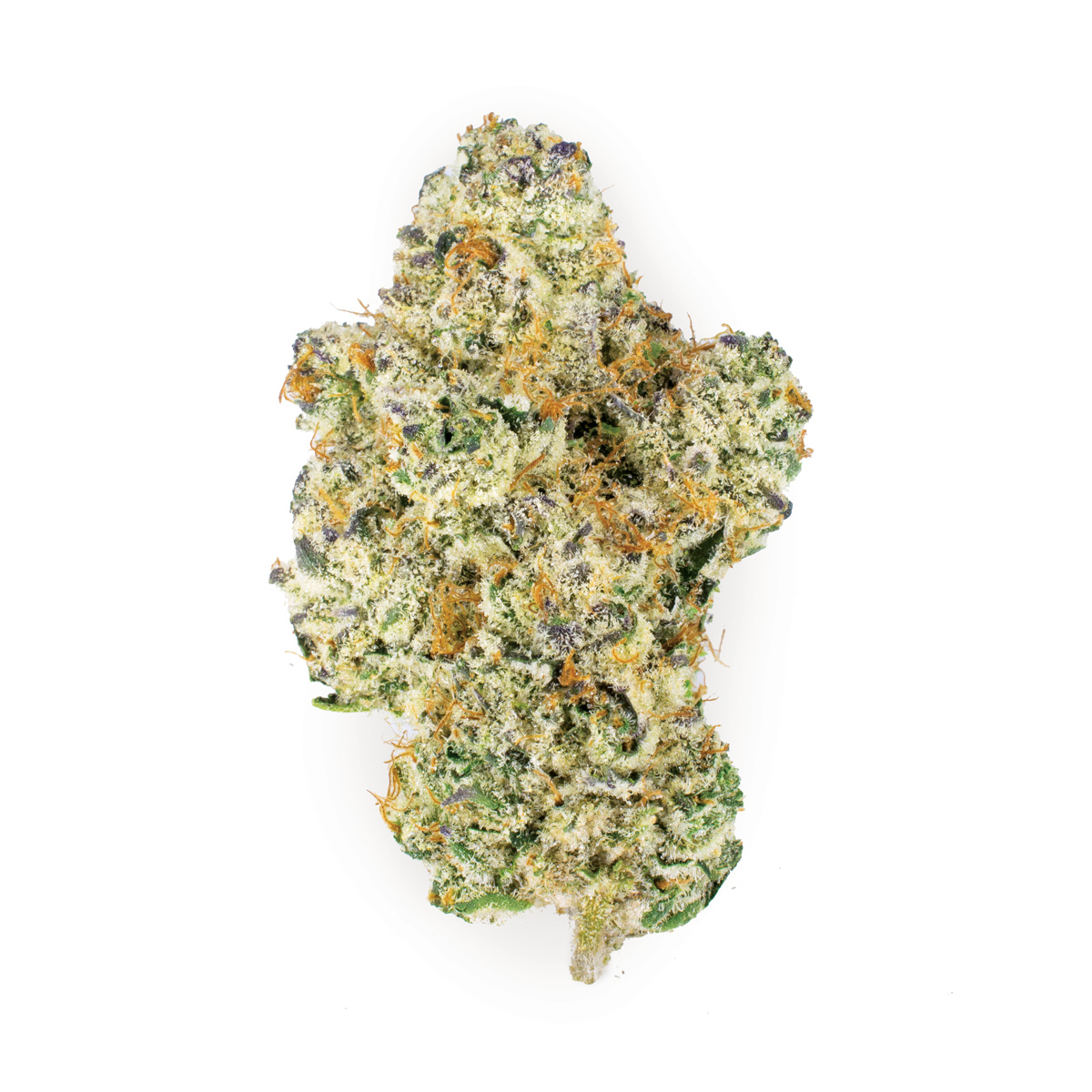 Dosi white - Indica Dominant Hybrid27.4% THC | .1 % CBDA cross between Dosi Dos and The White, Ember Valley's Dosi White is teeming with trichome density and a scent dominated by earthiness with slight notes of gas and fruit. The cosmic high that Dosi White invokes is perfect for relaxed creativity, and as a result it's become a staple strain in our farms.