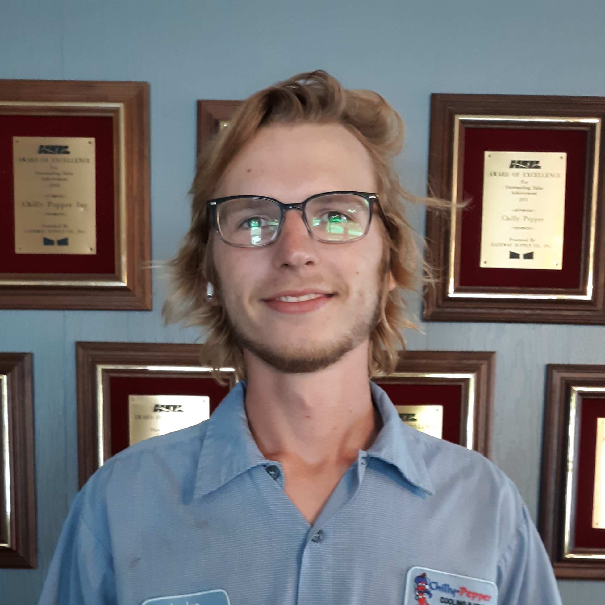 Luke Avant - HVAC TECHNICIAN APPRENTICELuke has been employed with Chilly Pepper since January 2019. He is scheduled to enroll at Horry Georgetown Technical College to complete the HVAC Technician Certification Program.He has hands on experience assisting with new system installation, preventative maintenance and repairs on various types of systems to ensure outstanding operation and performance.