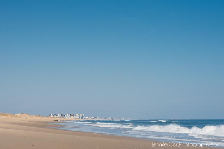 sandbridge shoreline coast from back bay national wildlife refuge in virginia beach