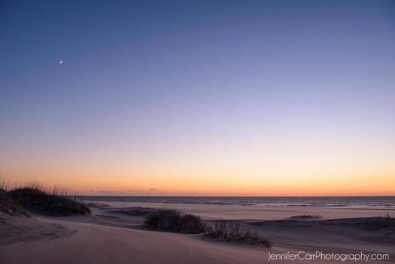 oregon inlet lifesaving station, hatteras island, outer banks photography, sunrise