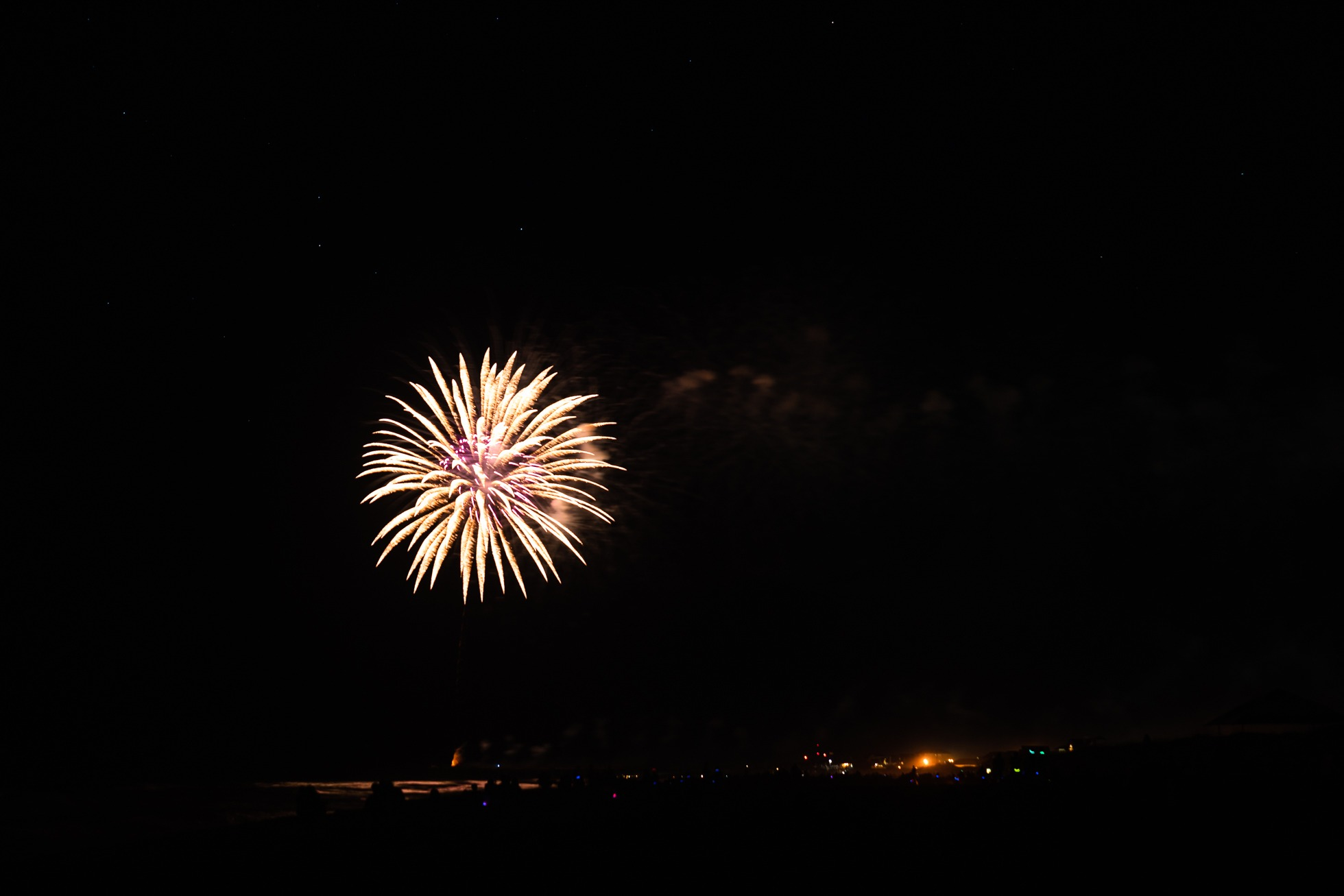 fireworks, avon, outer banks, north carolina, fourth of july