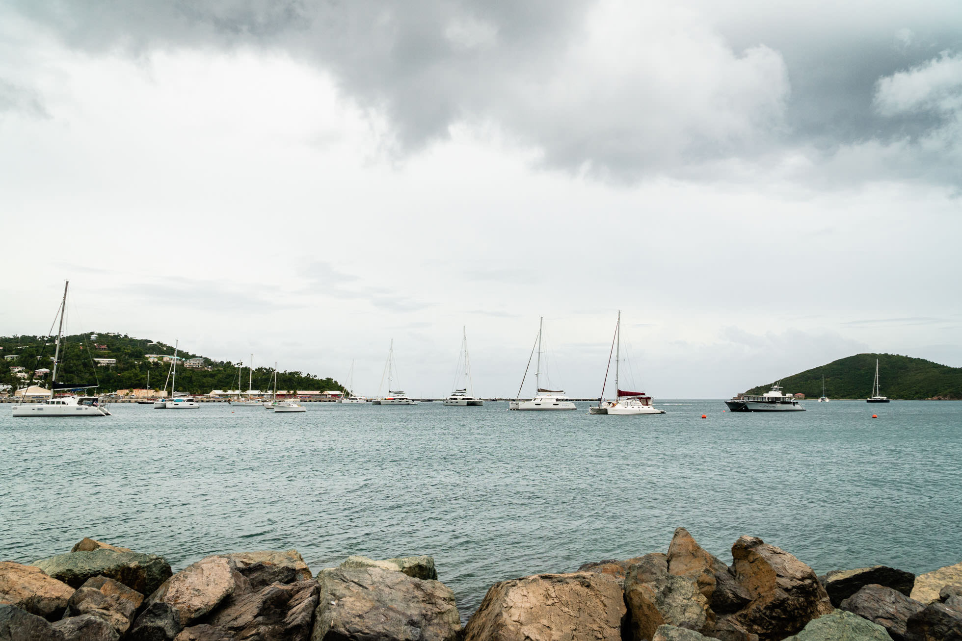st thomas, frenchman bay, united states virgin islands, cruise harbor