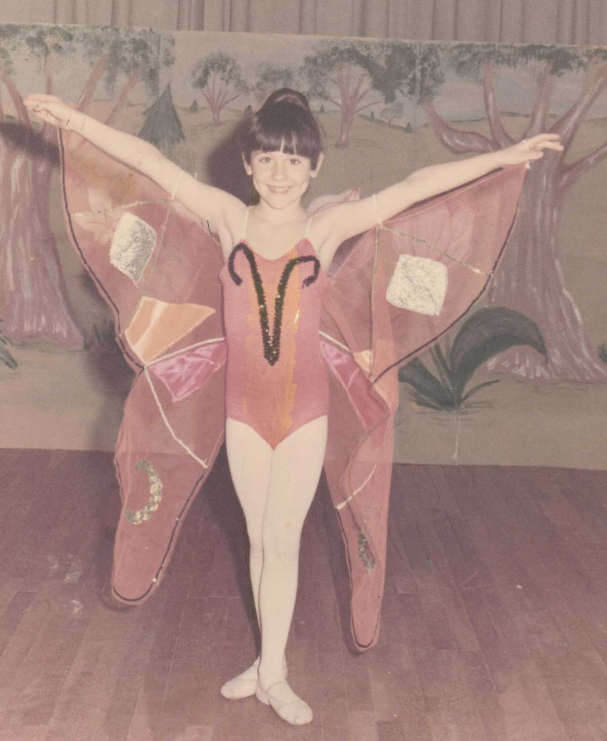 From a young age Michele danced at her mother's studio in Dallas, London School of Dance