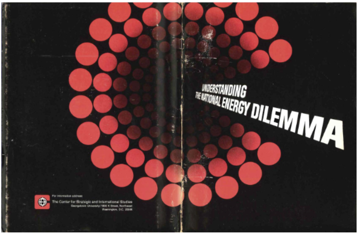 "The 1973 publication ""Understanding the National Energy Dilemma""was the first use of Sankey diagrams for energy policy planning."