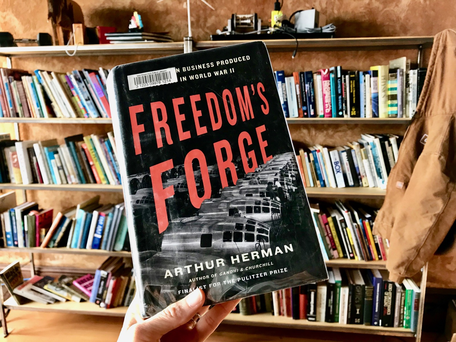 It is a reasonable argument to say that the US manufacturing buildup for WW2 was a bigger generator of jobs (and jobs that sustained) than the New Deal. Freedom's Forge: How American Business Produced Victory in World War II details the WW2 buildup.