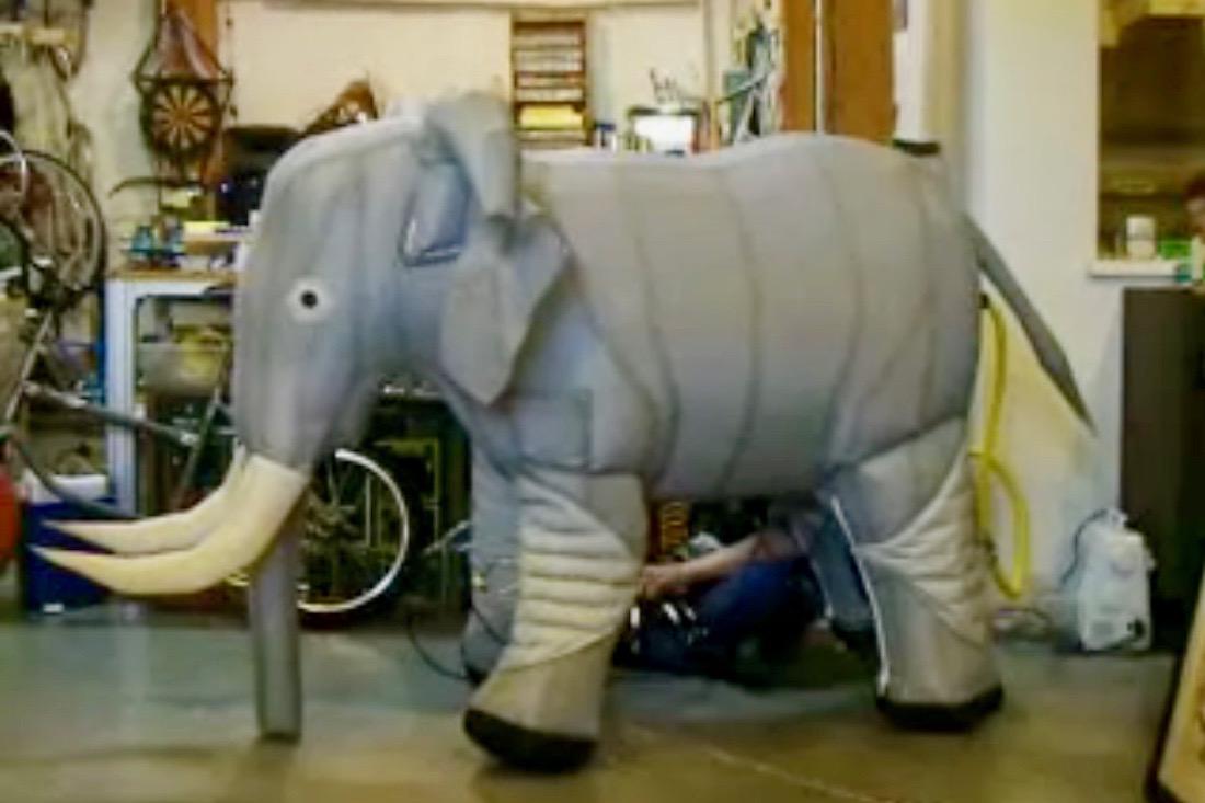 Walking Inflatable Elephant