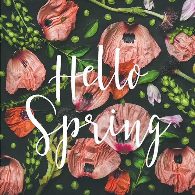 #spring #typografie #calligraphy #springtime