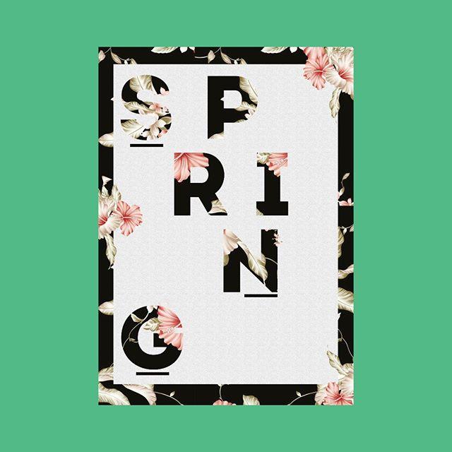 #spring #typografie #calligraphy #springtime #typolove