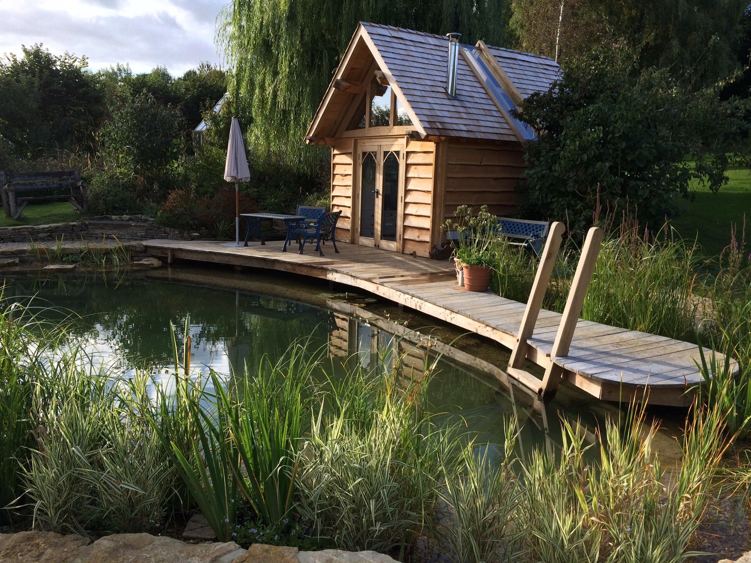 SHELTER - Cabins & LodgesGarden RoomsPergola Structures
