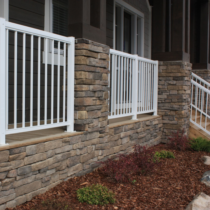 Stone - We specialize in working with various types of stone including river-rock, fieldstone, stack stone, manufactured interior and exterior stone as well as full bed natural stone. You name it, we can do it!