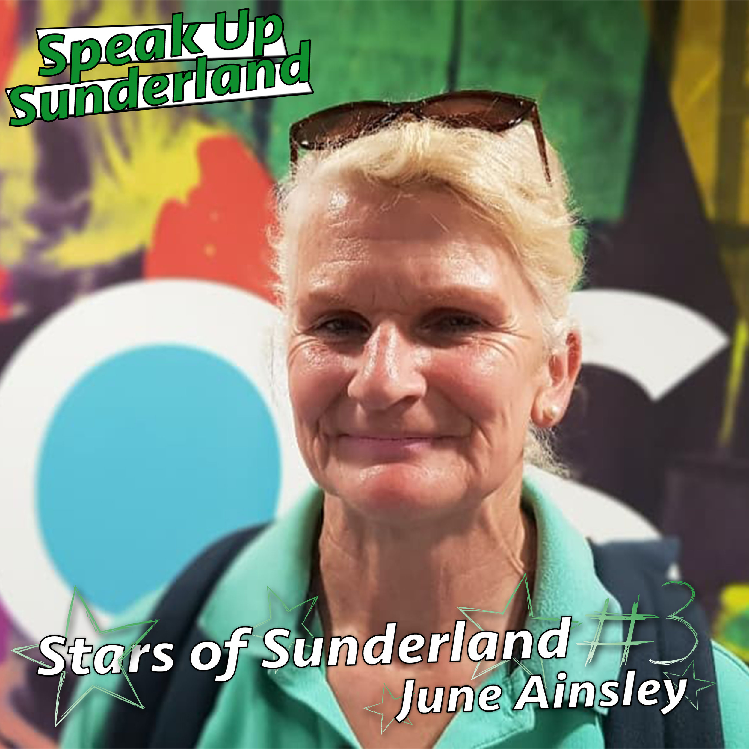 June Ainsley - Fundraiser for the Delerium & Dementia Outreach Team,Sunderland General Hospital