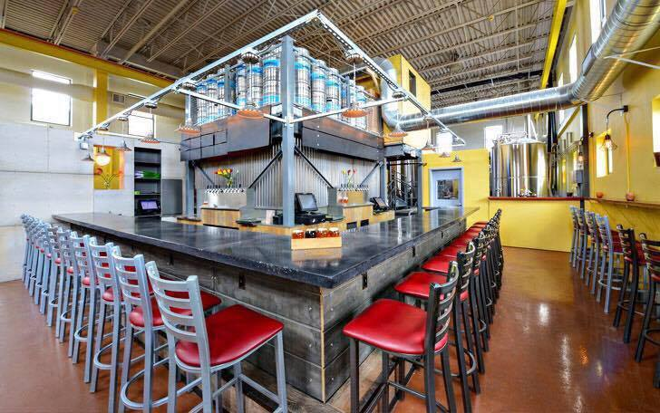 VIP TAPROOM SPACE - A public beer-centric event space for 15-60 guests.