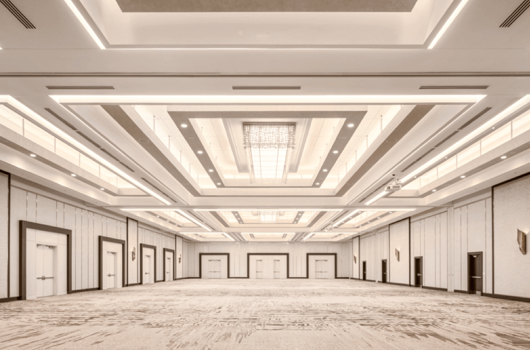 Vancouver's largest hotel ballroom - Parq Vancouver impresses with more than 60,000 square feet of well-appointed, flexible meeting and event space, featuring Vancouver's largest hotel ballroom, PARQ Grand Ballroom (15,604 SQUARE FEET).