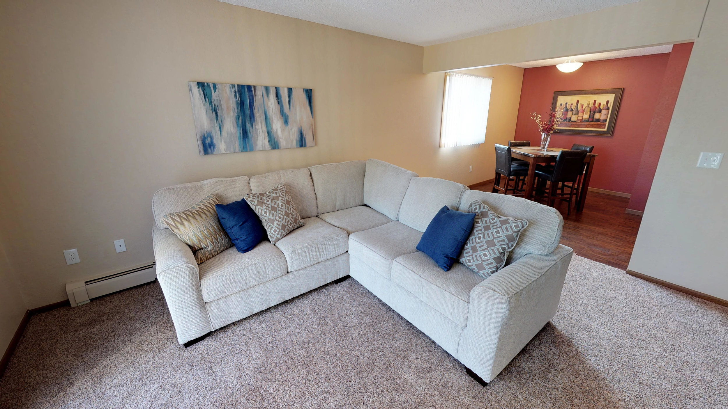Spacious Living Rooms Areas