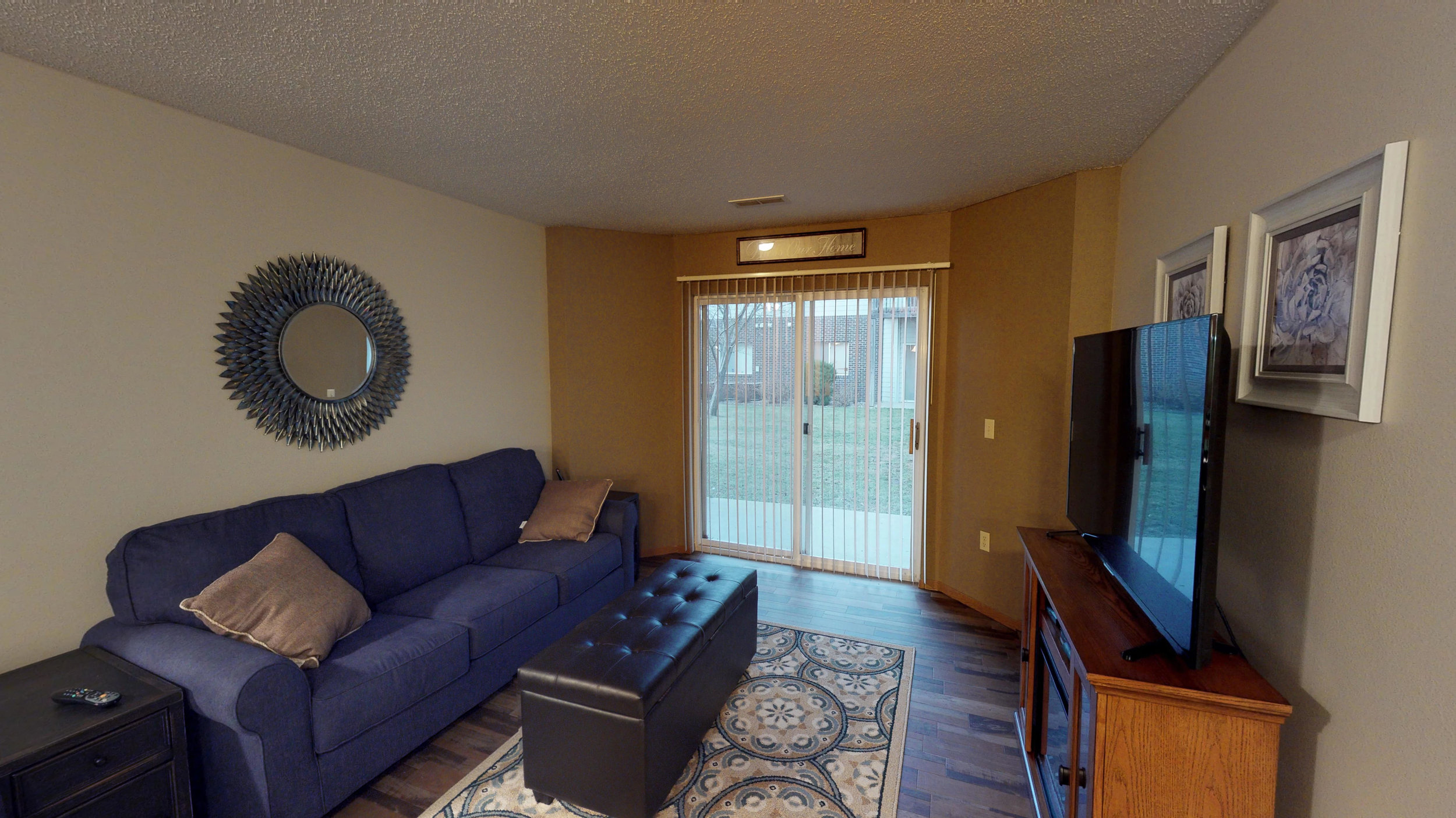 Large Living Rooms with Balcony or Patio Access