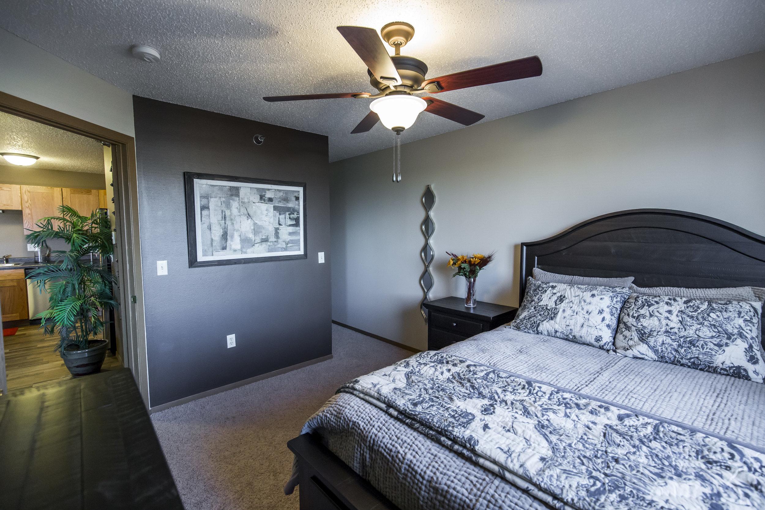 Spacious Elegant Bedrooms