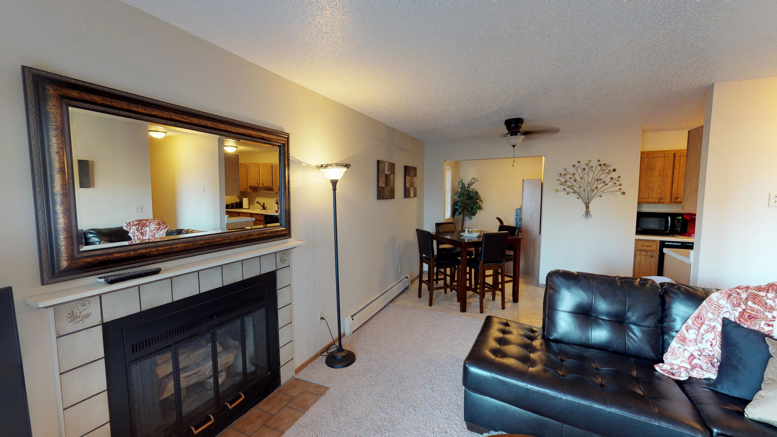 Fireplaces Available in Select Units