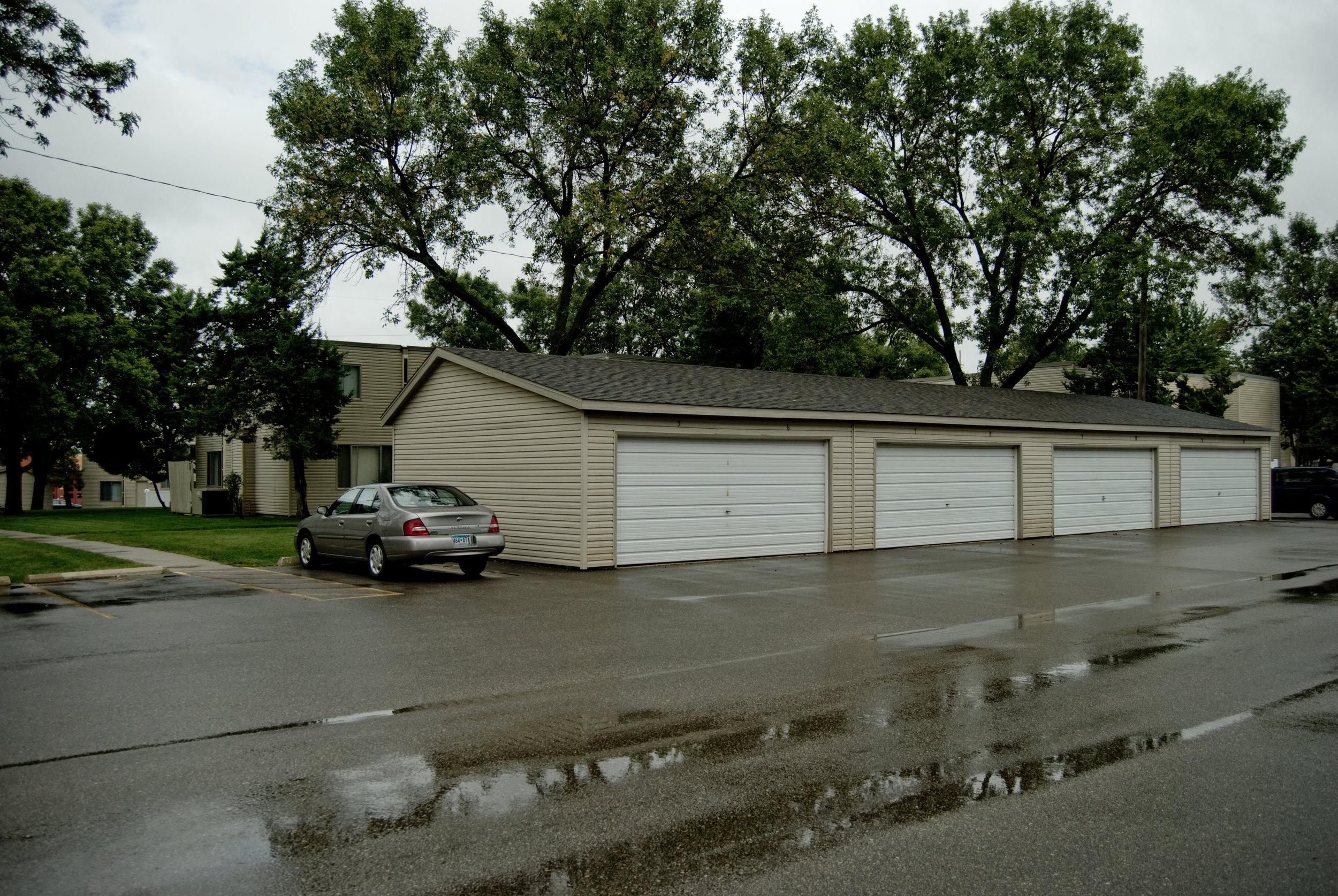 Detached Garages Available