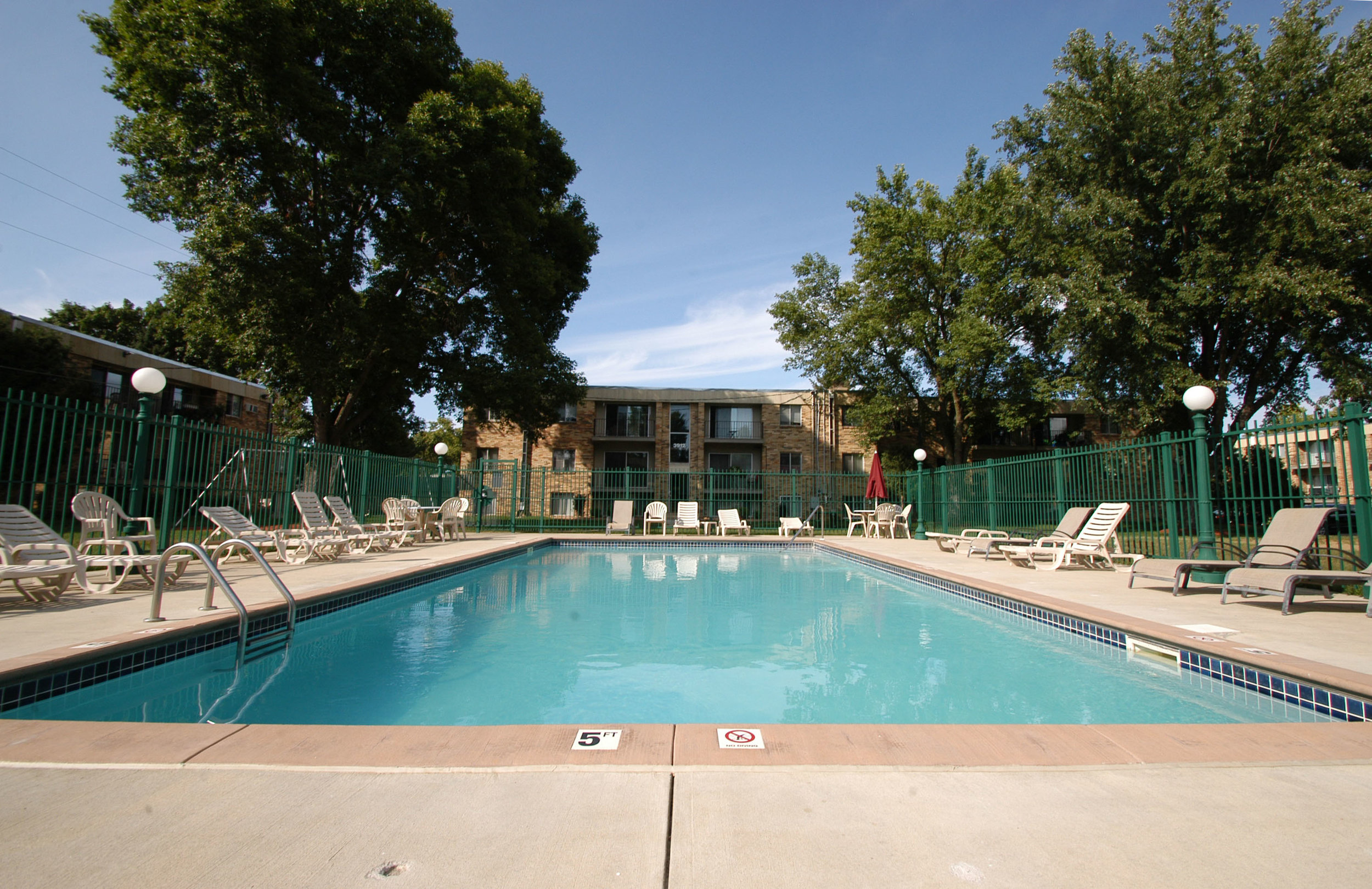 Community Pool Shared with Winchester Apartments