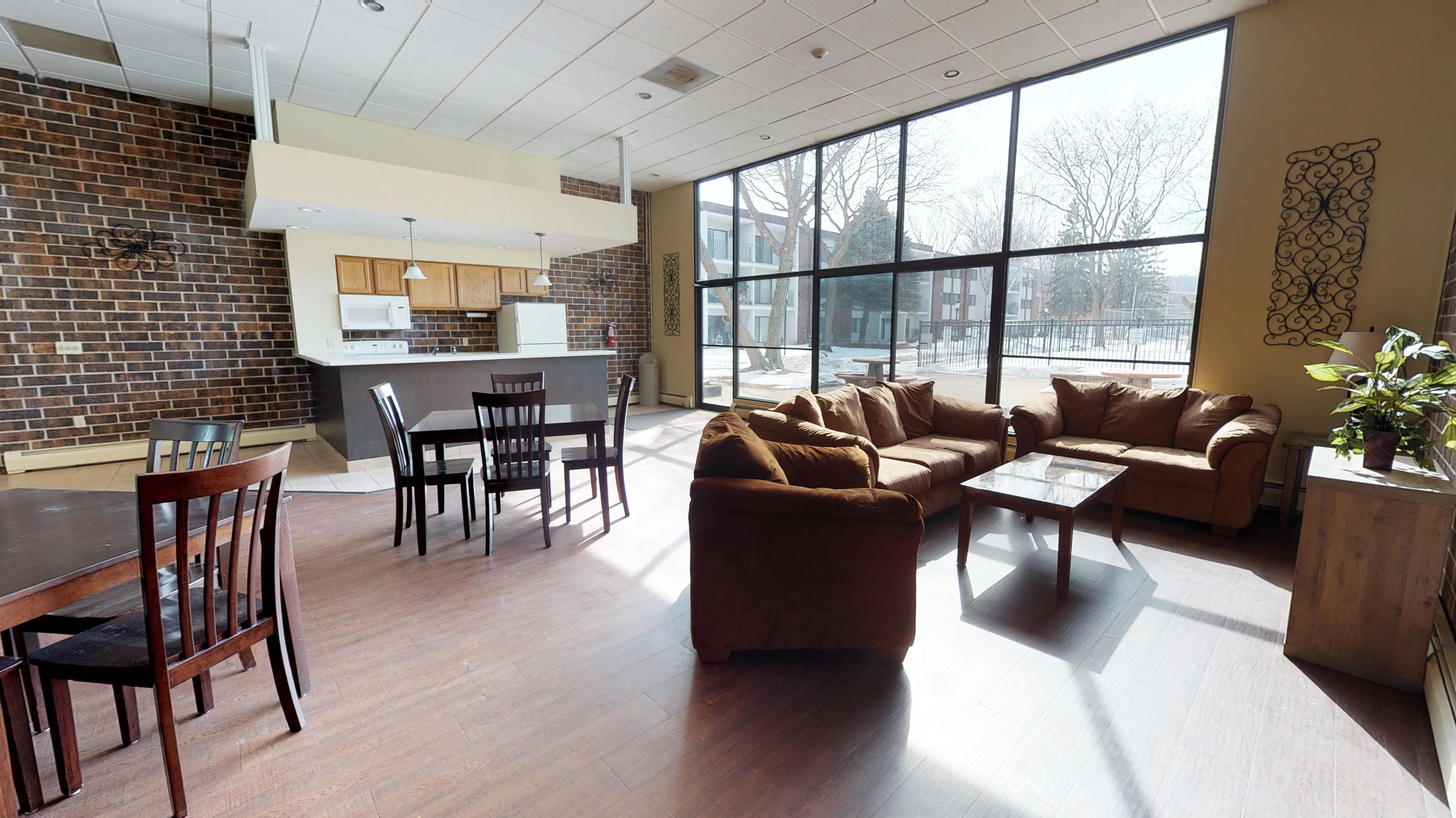 Community Room for Resident Events or to Entertain Guests