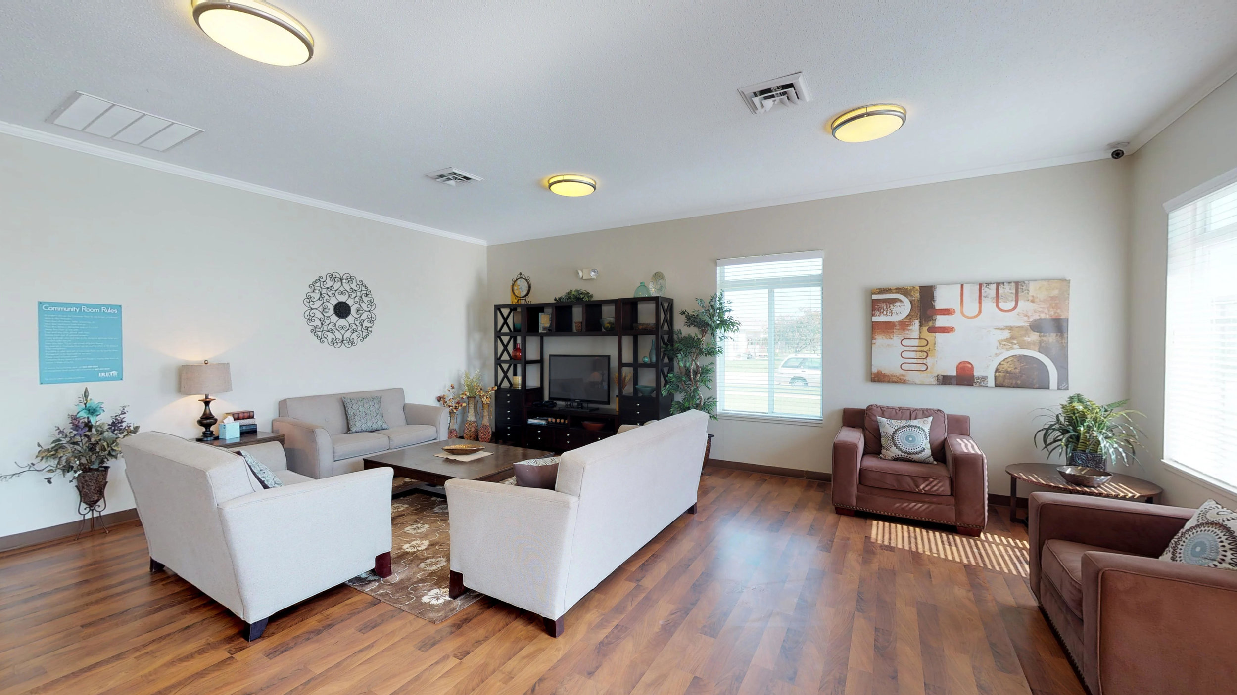 Entertain Guests at the Private Community Room