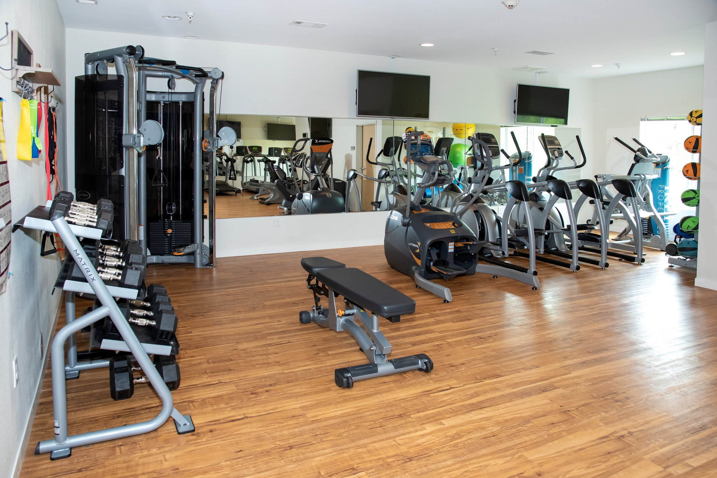 A Lot of Great Equipment to Choose from in our State of the Art Fitness Center