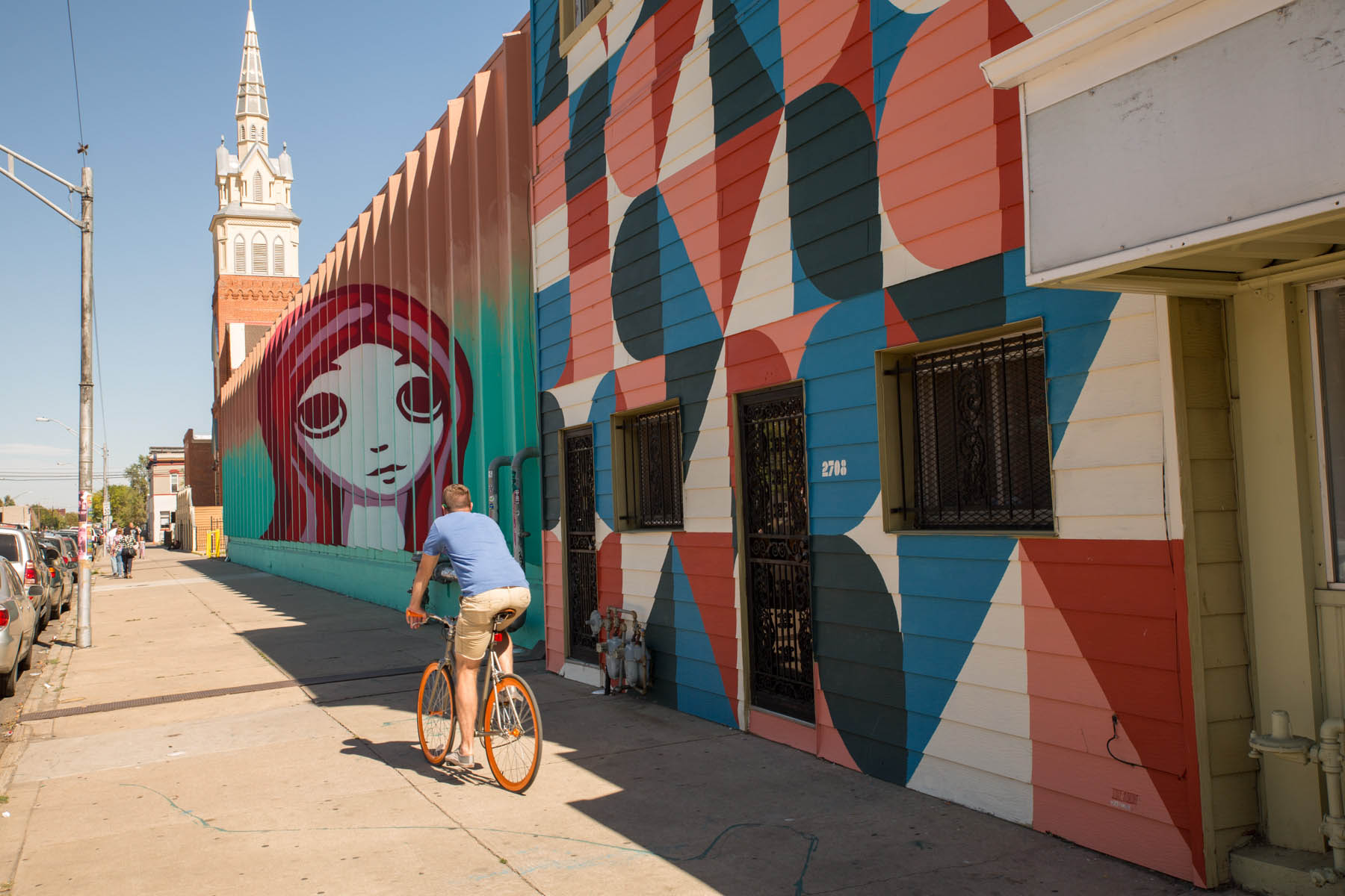 Walk, Bike, Park - Two-way bike lanes and Denver B-Cycle make it easy to get around. Explore RiNo in style in an eTuk or in a pedicab, with multiple stops throughout the neighborhood. Looking for an insider's guide to RiNo? Check out Drink RiNo.