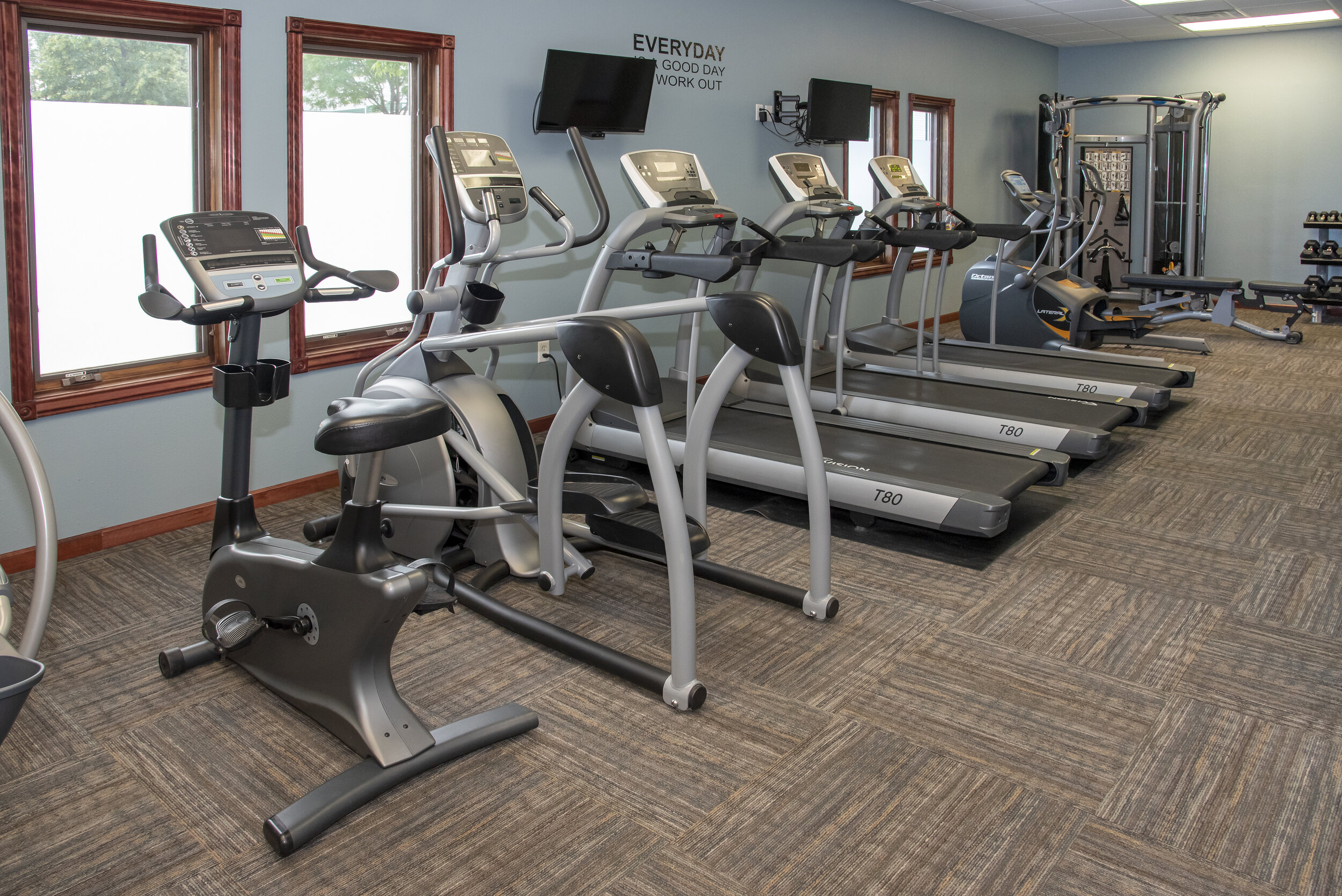 Elevate Your Heart Rate in the Fitness Center