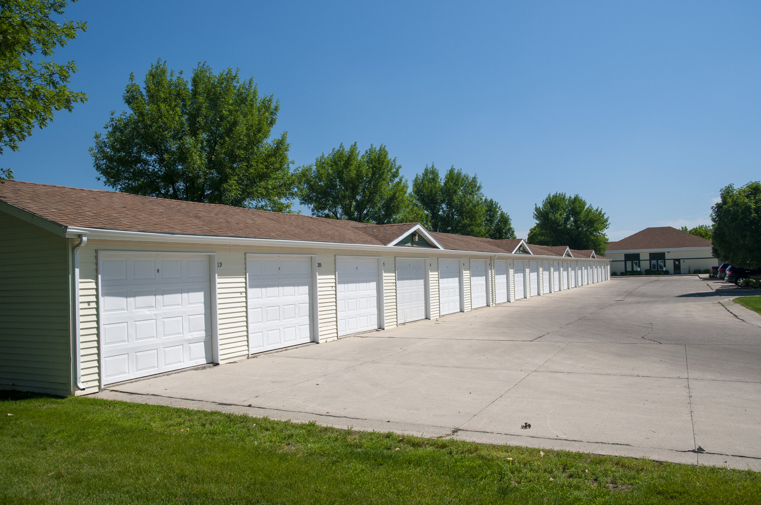 Detached Garages Available