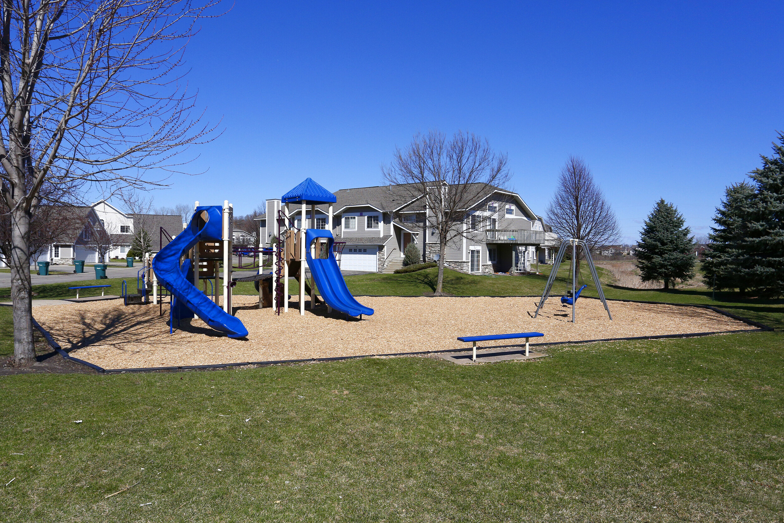 Community Playground for Hours of Outdoor Fun