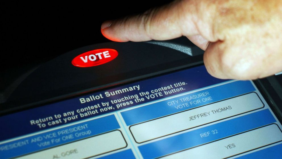 nixes paper ballots - Election officials in a southwestern Indiana county have nixed an idea to save money by not using voting machines during an upcoming primary vote.