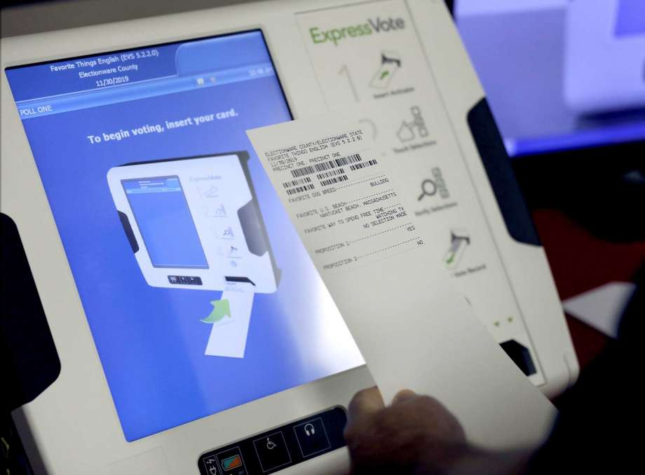 """Hybrid"" voting machines - Have been implemented in Johnson County, KS, against warnings by election integrity experts. Paper ballots are safe only if marked by hand, not by machine."