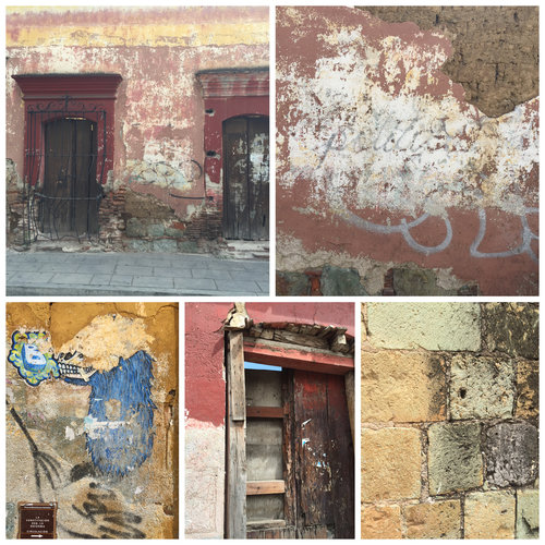 Textures and colors of Oaxaca