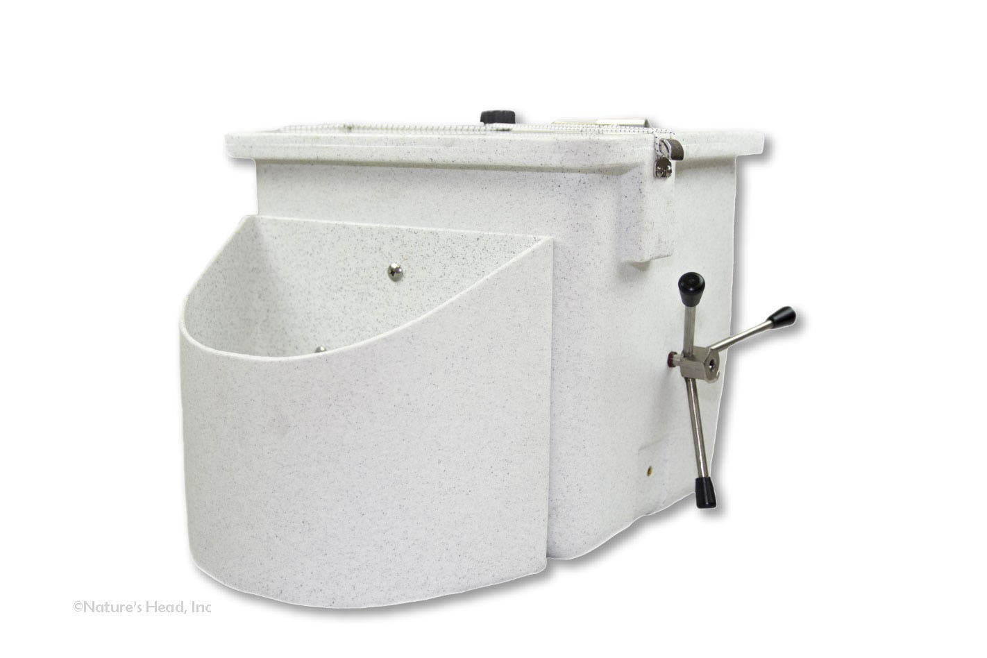 Composting Toilet Base with Lid
