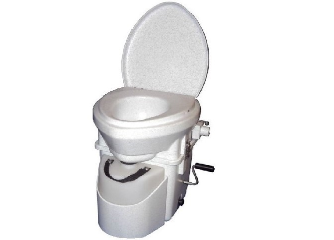 Composting Toilet with Standard Handle