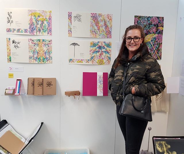 The Grad Show was a success! Absolutely over the moon with my final piece and a massive congrats to everyone in the year! We did it 😱!! Check out @pompey_illustration and have a look at this years graduates 😋