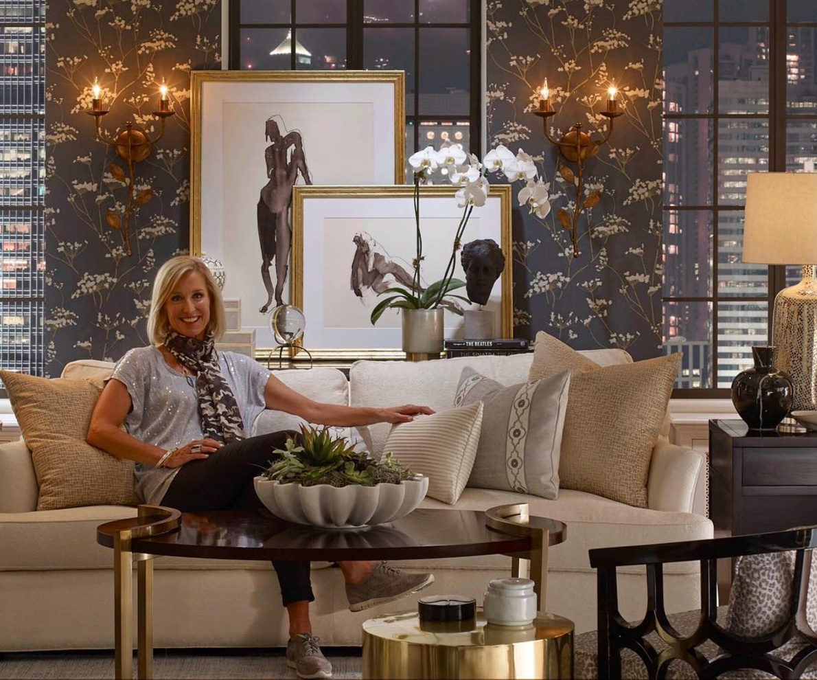 Candice Olson for Curated Kravet with Karen Darling for Lipman Art