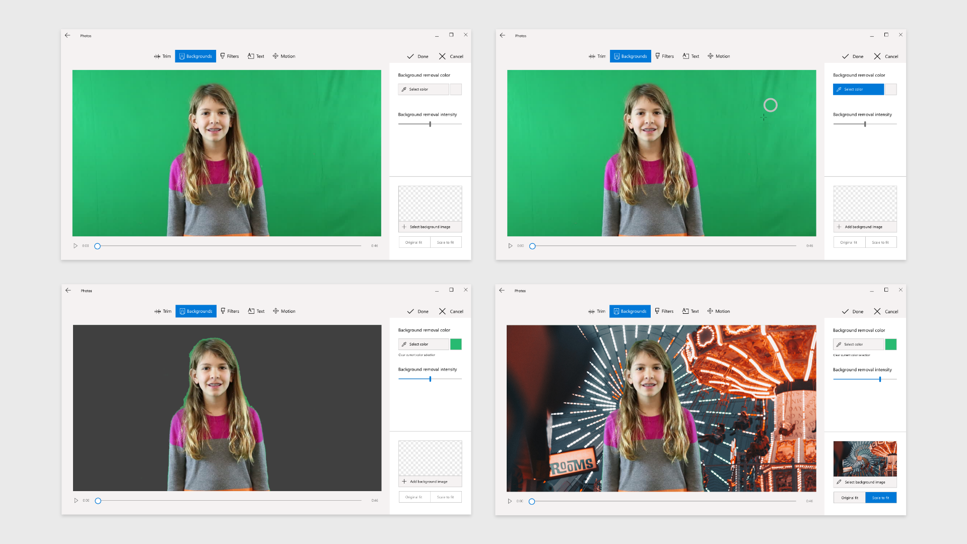 An improved color picker, background image selector, and less creepy open media commons preview content.