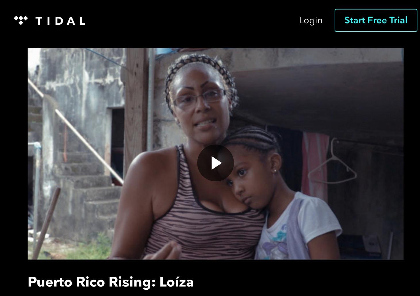 TIDAL - Puerto Rico Rising Videographer