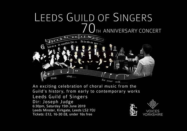 We are counting down the days! 😁 #lgs70 #leedsguild #leedsguildofsingers #leedsminster #leeds #leedsevents #concert #choir #voicesyorkshire #leedschoir #yorkshirechoir #choralmusic #choralconcert
